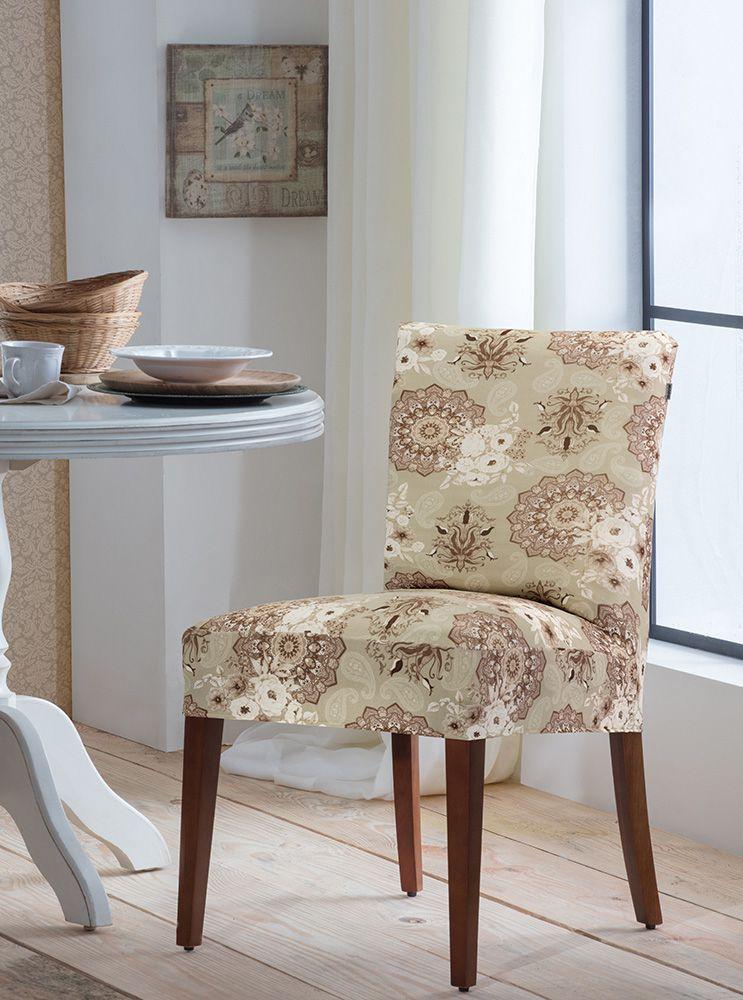 Capa P/ Cadeira - Malha - Mandala  - Adomes