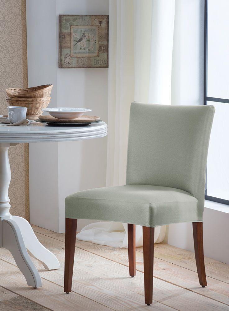 Capa P/ Cadeira - Malha - Verde - Adomes