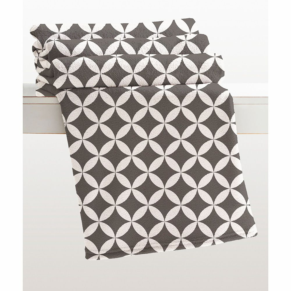 Cobertor Microfibra - Estampado - Casal - Kirti - 1,80m x 2,20m - Corttex