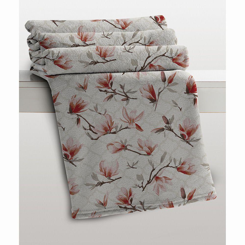 Cobertor Microfibra - Estampado - Casal - Yanis - 1,80m x 2,20m - Corttex