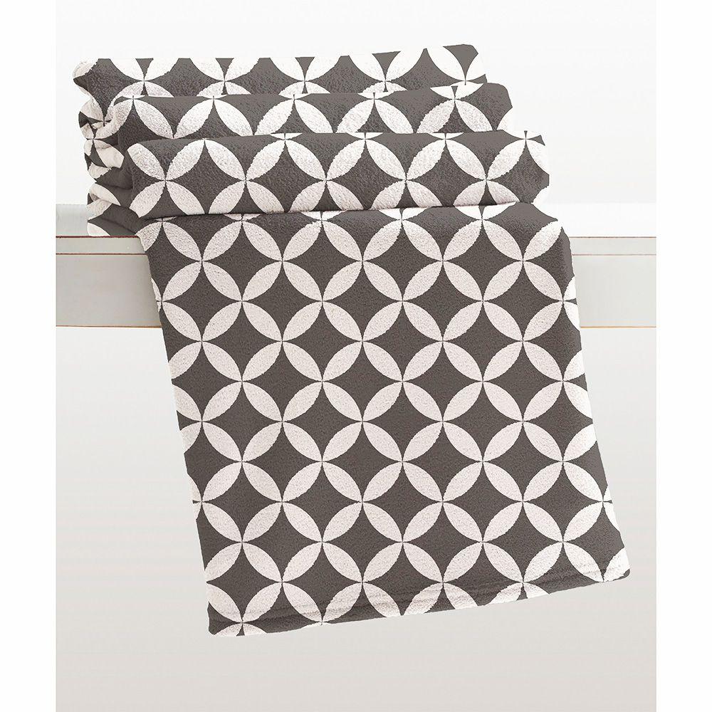 Cobertor Microfibra - Estampado - King Size - Kirti - 2,20m x 2,40m - Corttex