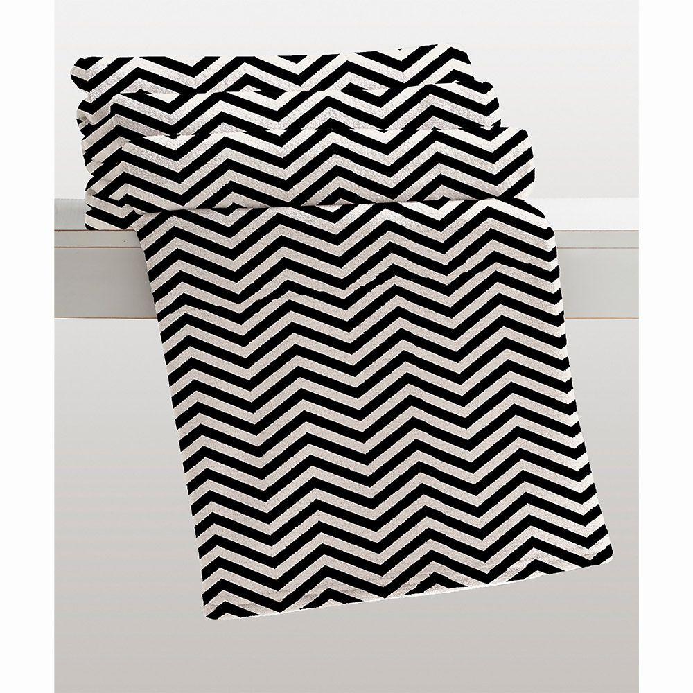 Cobertor Microfibra - Estampado - King Size - Nagini - 2,20m x 2,40m - Corttex