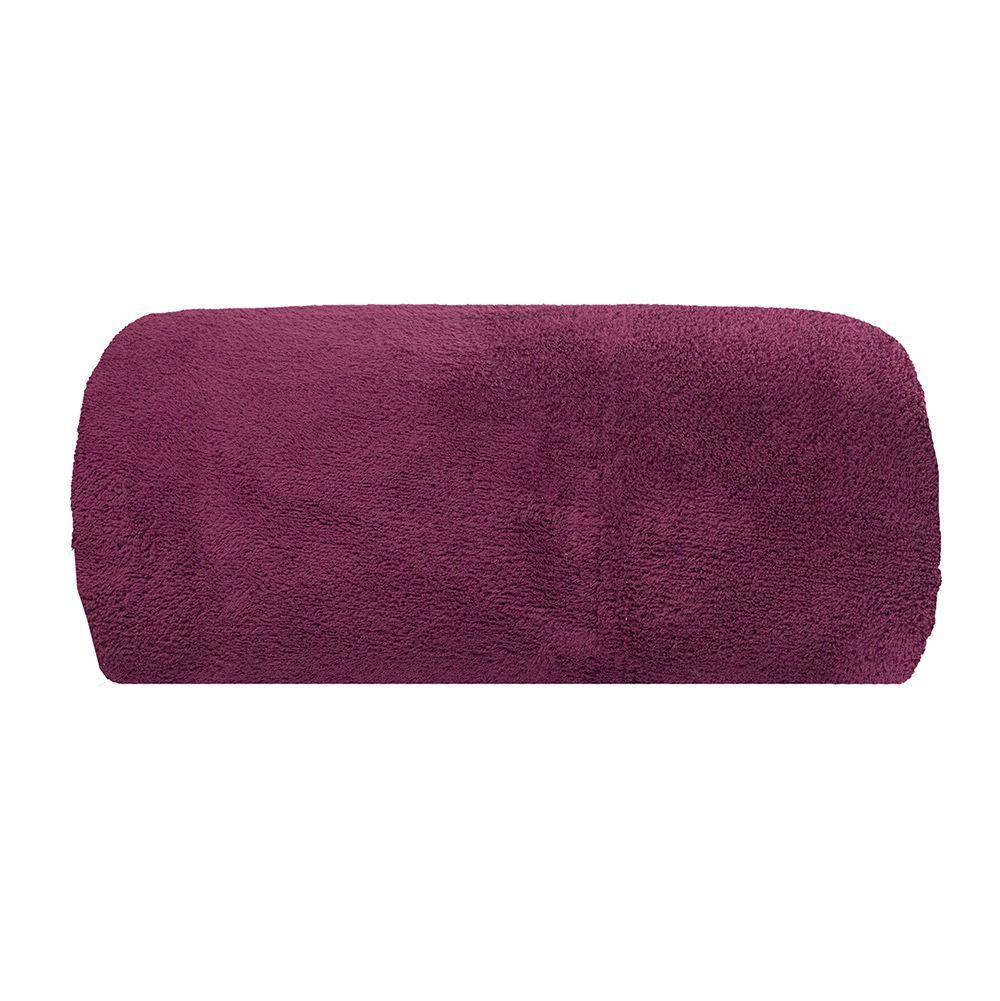 Cobertor Microfibra - Solteiro - Liso - Cereja - 1,50m x 2,00m - Camesa