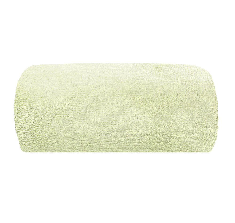 Cobertor Microfibra - Solteiro - Liso - Marfim - 1,50m x 2,00m - Camesa