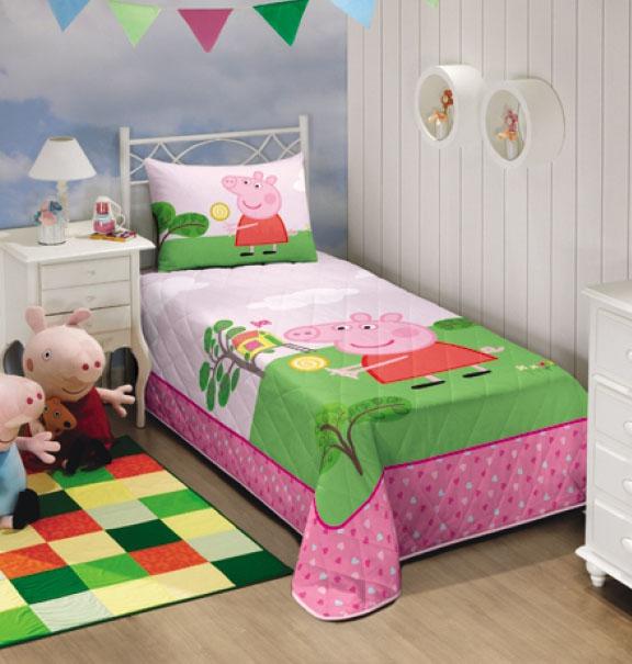 Colcha Infantil Matelasse - Peppa Pig - Lepper