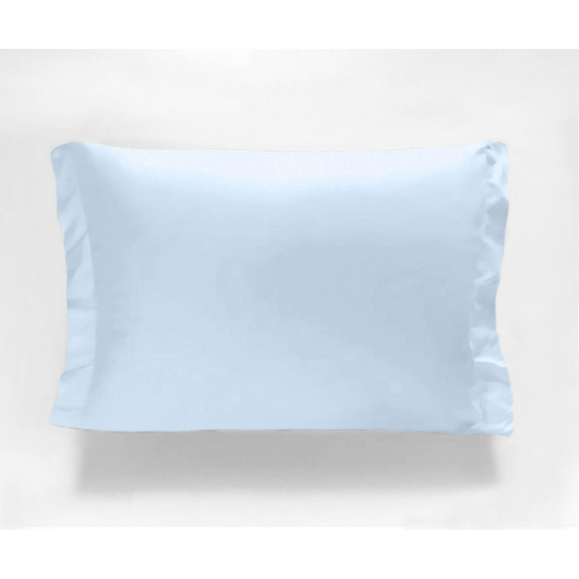 Fronha Avulsa - 180 Fios - Azul - Percal - 100% Algodão - Cozy