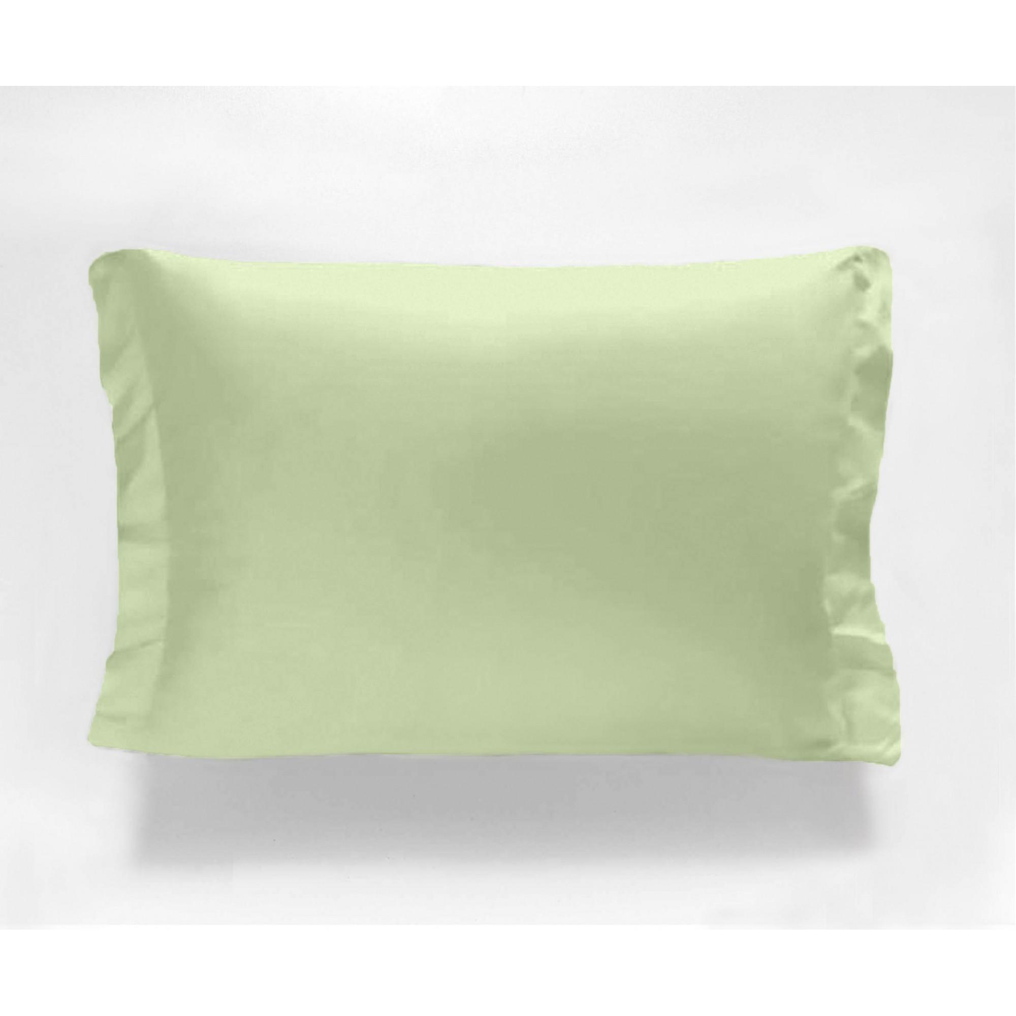 Fronha Avulsa - 180 Fios - Verde - Percal - 100% Algodão - Cozy