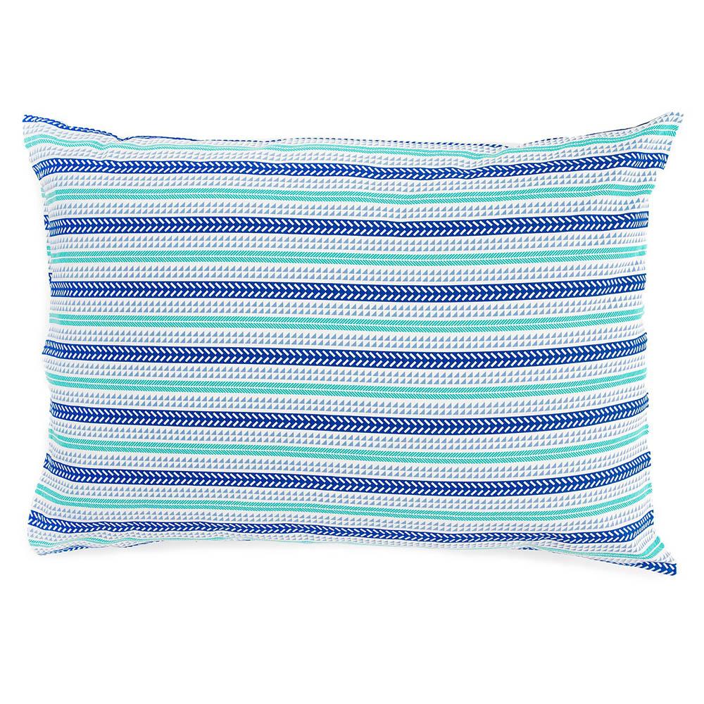 Fronha Avulsa Estampada - Royal - 100% Algodão - Santista Cor: Line Azul