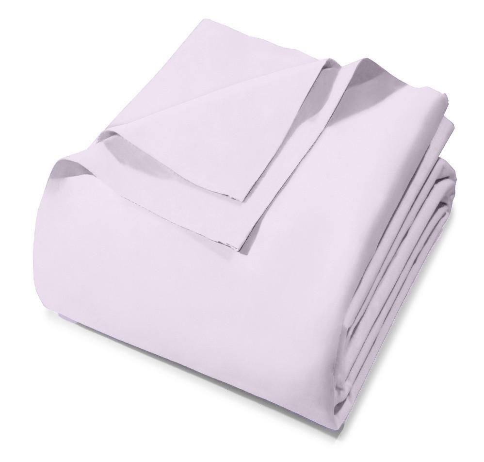 Lençol Avulso - King Size - Prata - Sem Elástico - Rosa 3284 - 100% Algodão - 150 Fios - Santista