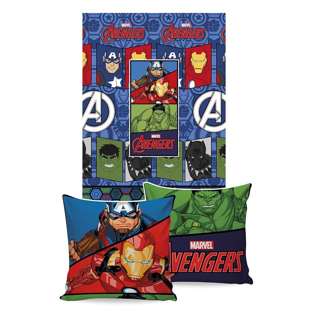 Manta Almofada - Infantil - Vingadores Avengers - Jolitex