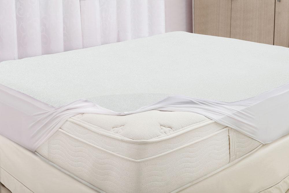 Protetor de Colchão Casal - Realce Premium - Felpudo - Impermeável - Sultan