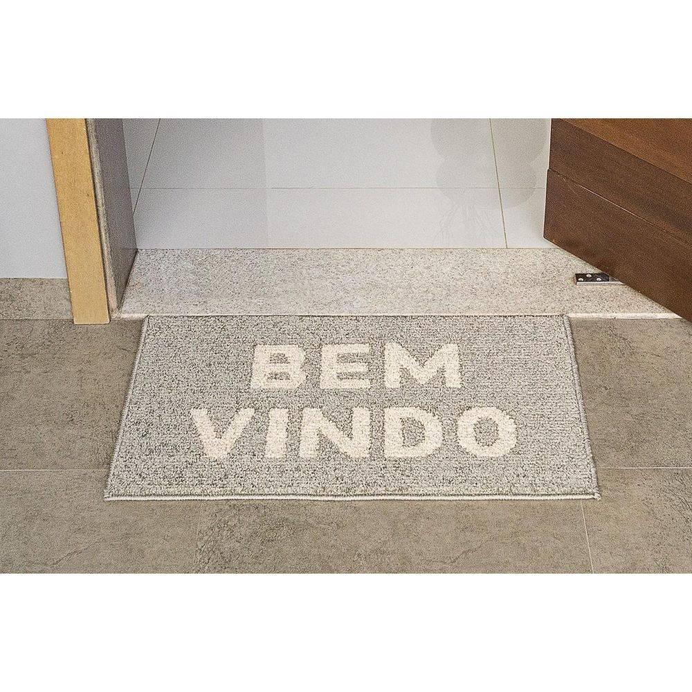 Tapete Bem Vindo - Fendi - Ancona - 0,50 m x 0,80 m - J. Serrano