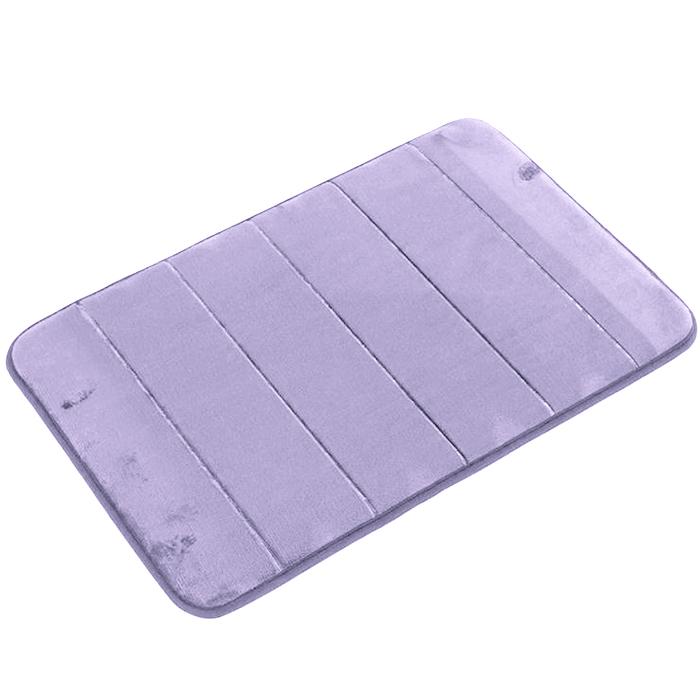 Tapete de Banheiro - Super Soft - 60cm x 40cm - Lilás - Blanco