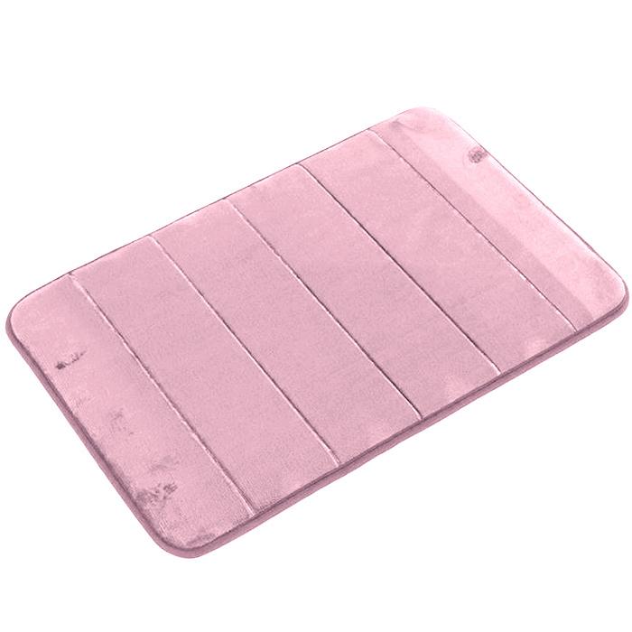 Tapete de Banheiro - Super Soft - 60cm x 40cm - Rosé - Blanco