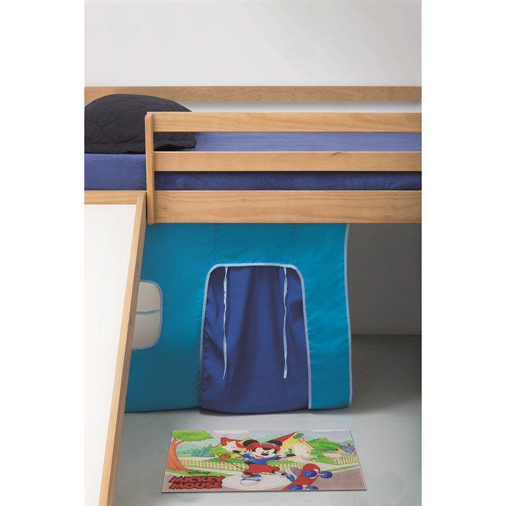 Tapete Infantil Digital - Mickey Skatista - 0,60m x 0,40m - Jolitex