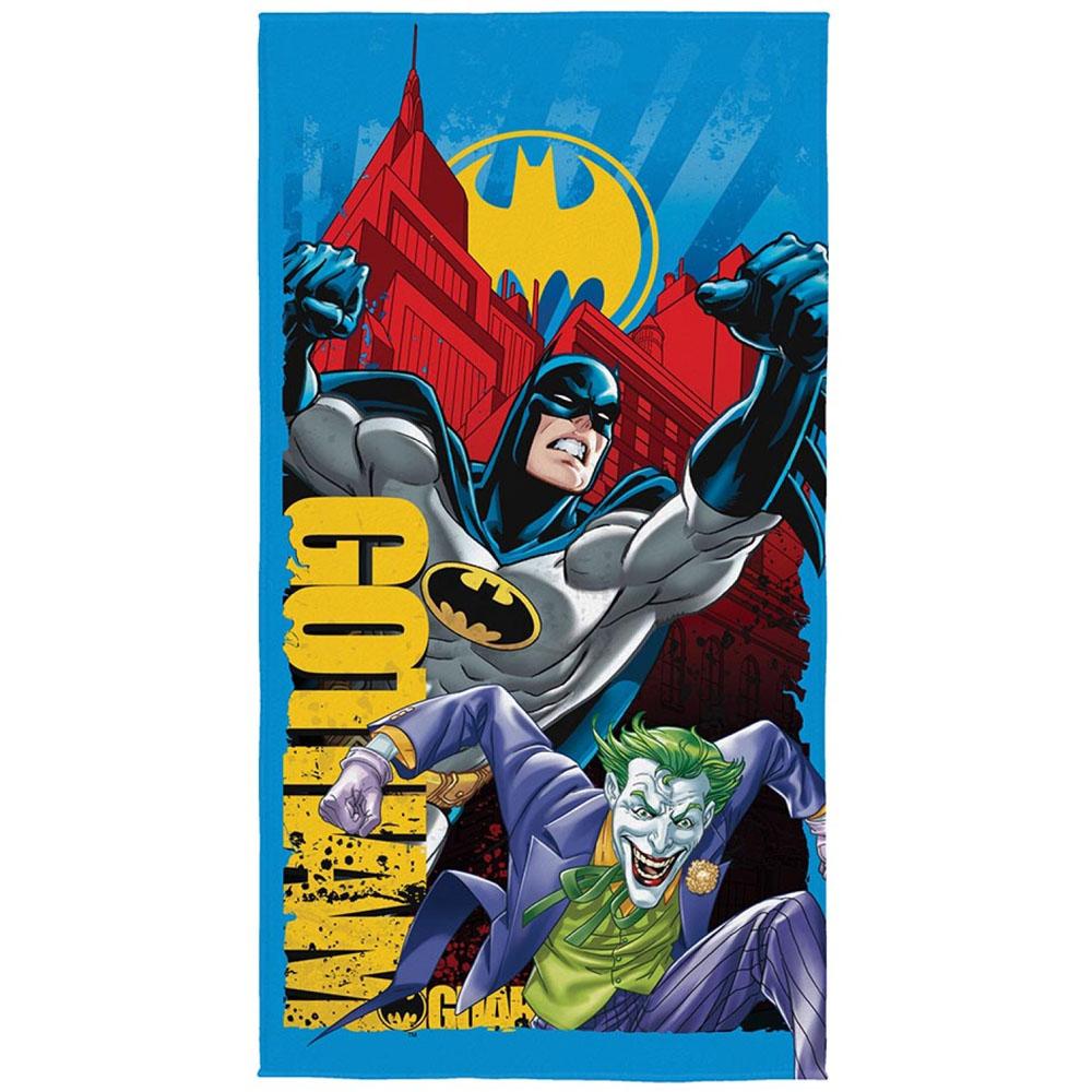 Toalha de Banho Infantil - Batman - Aveludada - Lepper