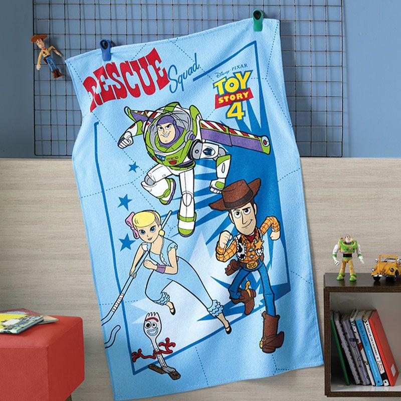 Toalha de Banho Infantil - Toy Story 08 - Felpuda - Dohler