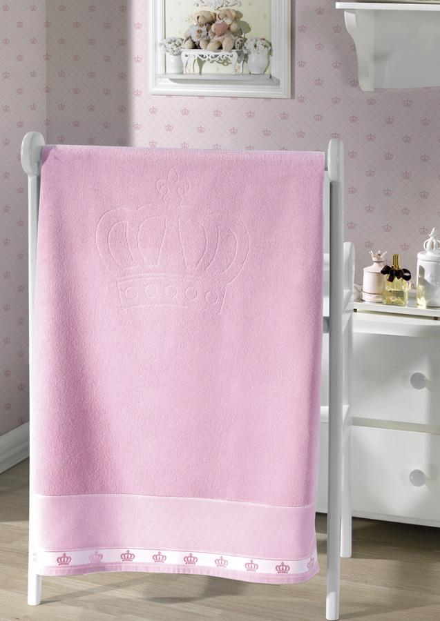 Toalha de Banho p/ Bordar - Baby Classic - Rosa 5211 - Aveludada - Dohler