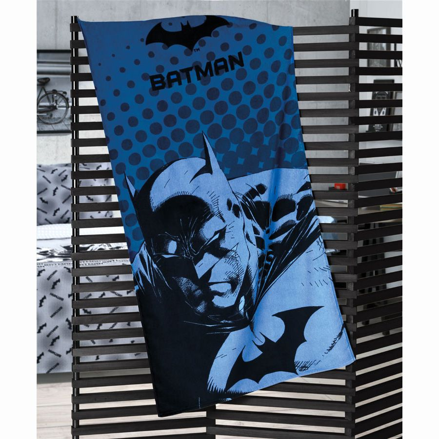 Toalha de Praia - Batman 07 - Aveludada - Dohler