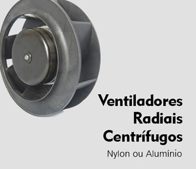 ventiladores radiais centrifugos Nework