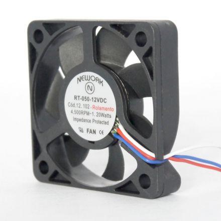Miniventilador Nework 50X50X10 12VDC Código 12.102