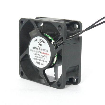 Miniventilador Código 50.101-ECP Dimensão(mm) 60X60X25 Bivolts