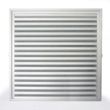 Conjunto de Ventilação Código 6514-A Dimensão(mm) 300X300 - Alumínio