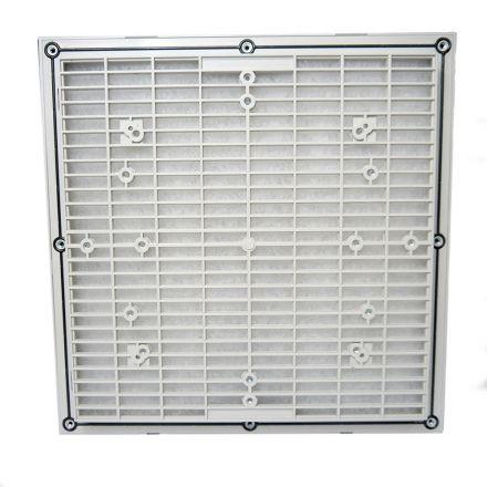 Grelha de Ventilação Código 4511(7035)  Dimensão (mm) 320X320