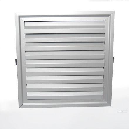 Grellha de Alumínio Código 4610-A  Dimensão (mm) 185X185