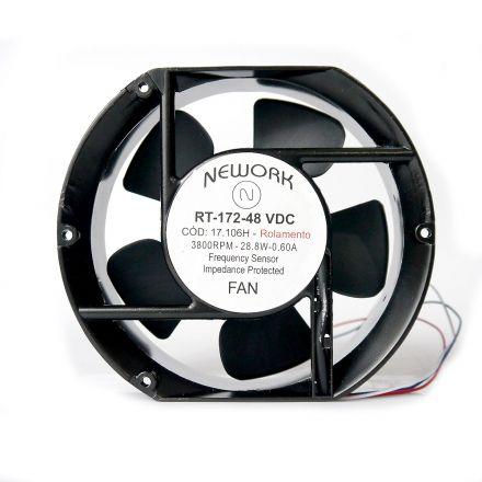 Miniventilador Código 17.106 H Dimensão (mm) 172X150X51 48 VDC
