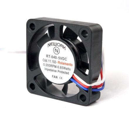 Miniventilador Nework 40X40X10 5VDC código 11.102