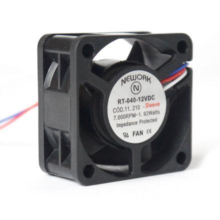 Miniventilador Nework 40X40x20 12VDC Código 11.210