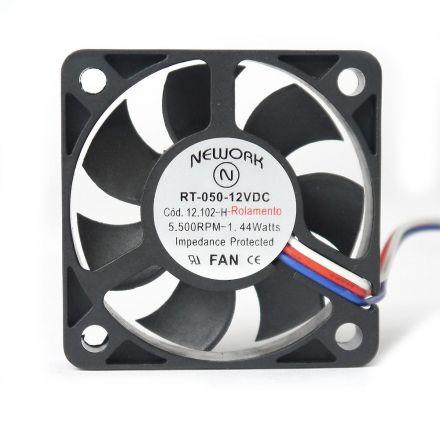 Miniventilador Nework 50X50X10 12VDC  Código 12.102 H