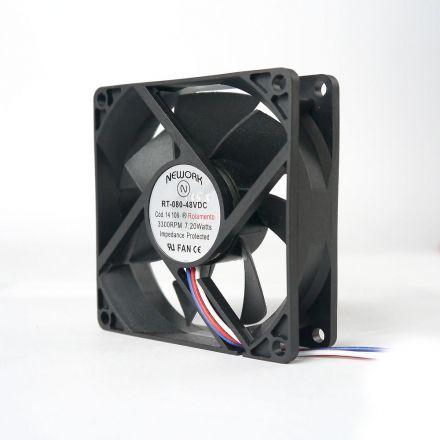 Miniventilador Nework 80X80X25 48 VDC Código 14.108 R