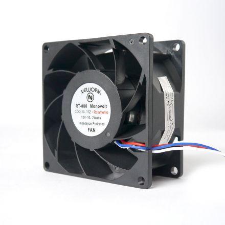 Miniventilador Código 14.112 Dimensão (mm) 80X80X38 12 VDC