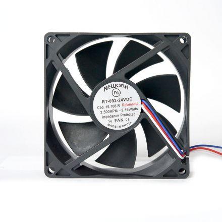 Miniventilador Nework 92X92X25 24 VDC  Código 15.106 R