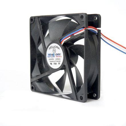 Miniventilador Código 15.104 R Dimensão (mm) 92X92X25 12 VDC
