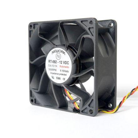 Miniventilador Nework 92X92X38 12 VDC Código 15.114