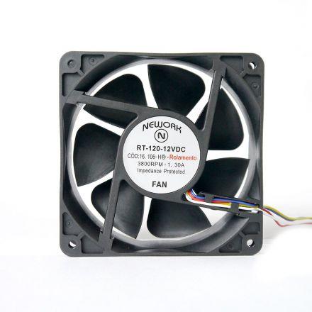 Miniventilador Nework 120X120X38 12 VDC Código 16.106 HR