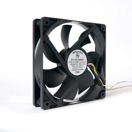 Miniventilador Nework 120X120X25 24 VDC Código 16.108 R