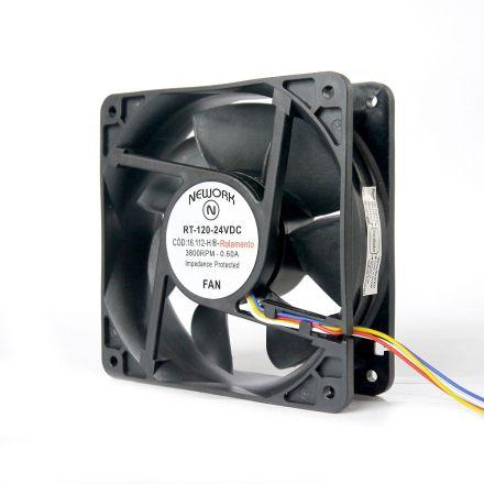 Miniventilador Nework 120X120X38 24 VDC  16.112 HR