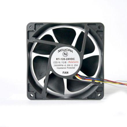 Miniventilador Nework 120X120X38 24 VDC Código 16.112 R