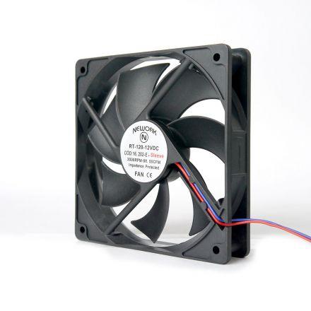 Miniventilador Código 16.202 E Dimensão (mm) 120X120X25 12 VDC