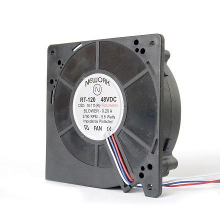 Miniventilador Código 18.111 R Dimensão (mm) 120X120X32 48VDC48 VDC