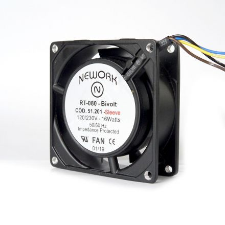 Miniventilador Código 51.201 Dimensão (mm) 80X80X25 Bivolt