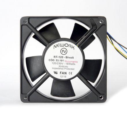 Miniventilador Nework 120X120X25 Bivolt Código 53.101