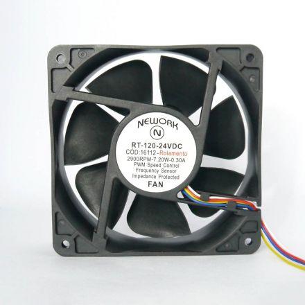 Miniventilador Nework 120X120X38 24 VDC Código 16.112