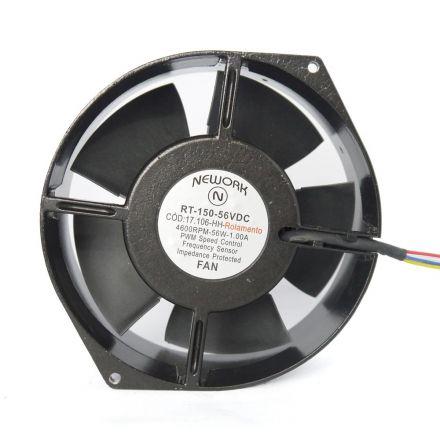 Miniventilador Código 17.106-HH Dimencão(mm) 172X150X55   48 VDC