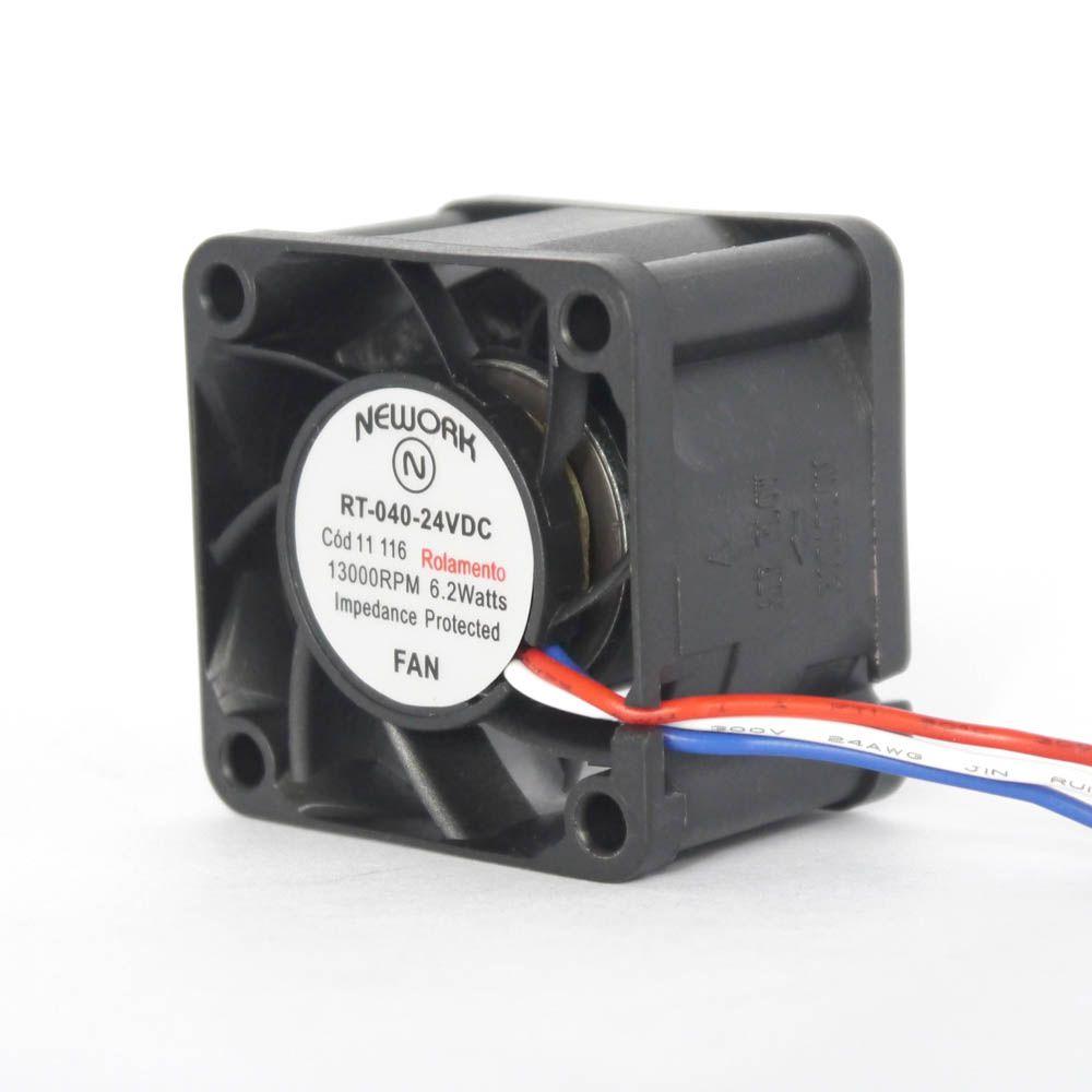 Miniventilador Nework 40X40X28 24VDC Código 11.116