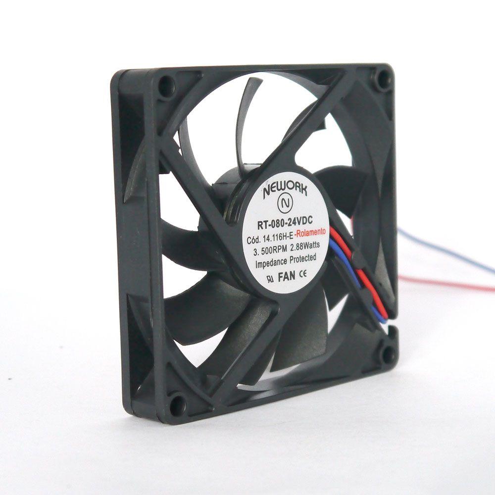 Miniventilador Nework 80X80X15 24VDC  Código 14.116-HE